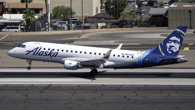 A picture of N643QX - Embraer E175LR - Alaska Airlines - © Kyle Boyd