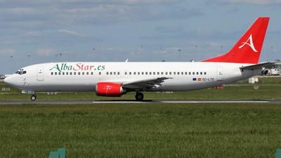 EC-LTG - Boeing 737-4K5 - AlbaStar