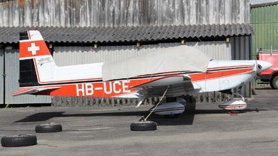 HB-UCE - Grumman American AA-5A Cheetah - Private