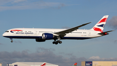 G-ZBKO - Boeing 787-9 Dreamliner - British Airways
