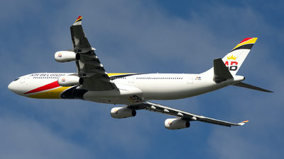 OO-ABB - Airbus A340-313E - Air Belgium