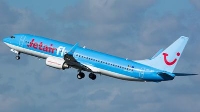 OO-JPT - Boeing 737-8K5 - Jetairfly
