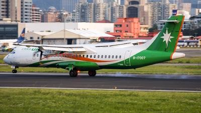 A picture of B17007 - ATR 72600 - UNI Air - © CPH Thomas