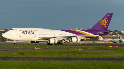 A picture of HSTGG - Boeing 7474D7 - [33771] - © Yohane