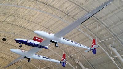 N277SF - Scaled Composites Triumph - Virgin Atlantic Airways