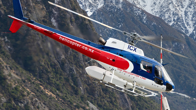 ZK-ICX - Eurocopter AS 350B2 Ecureuil - The Helicopter Line