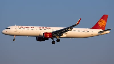 B-1857 - Airbus A321-211 - Juneyao Airlines