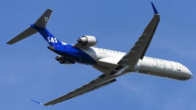 ES-ACK - Bombardier CRJ-900LR - Scandinavian Airlines (Xfly)