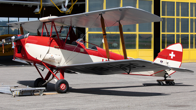 HB-UBC - De Havilland DH-82A Tiger Moth - Private