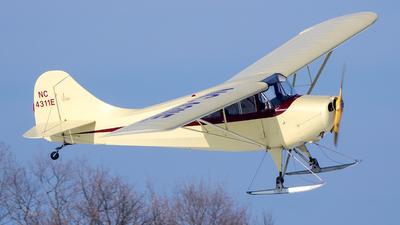 N4311E - Aeronca 11CC Super Chief - Private