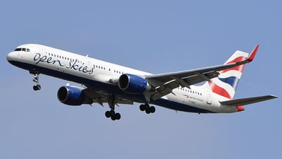 F-HAVI - Boeing 757-26D - Open Skies (British Airways)