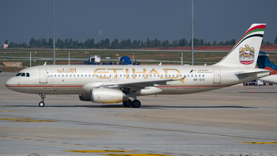 A6-EIG - Airbus A320-232 - Etihad Airways