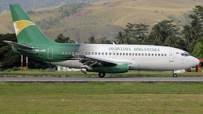PK-JRW - Boeing 737-210C(Adv) - Jayawijaya Dirgantara