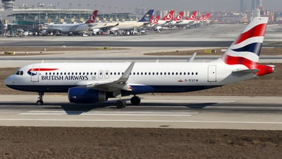 G-EUYW - Airbus A320-232 - British Airways