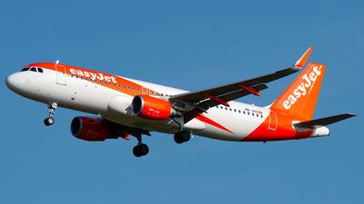 A picture of HBJXO - Airbus A320214 - easyJet - © Laszlo Fekete