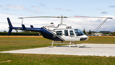 ZK-IND - Bell 206L-1 LongRanger - Private