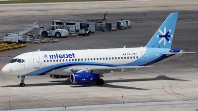 XA-PPY - Sukhoi Superjet 100-95B - Interjet