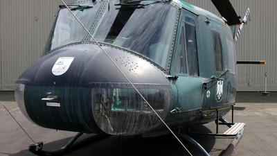 D-HATE - Bell UH-1 Iroquois - Germany - Bundesgrenzschutz