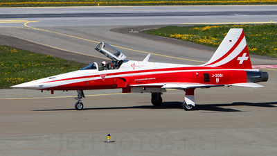 J-3081 - Northrop F-5E Tiger II - Switzerland - Air Force