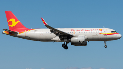 A picture of B8069 - Airbus A320232 - Tianjin Airlines - © AndySpotter