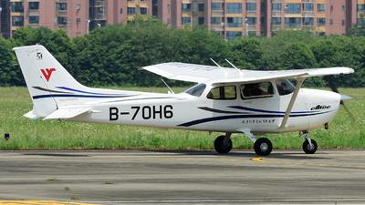 B-70H6 - Cessna 172R Skyhawk - Civil Aviation Flight University of China