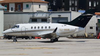 SU-MAN - Raytheon Hawker 850XP - Private