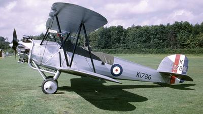 G-AFTA - Hawker Tomtit - Private