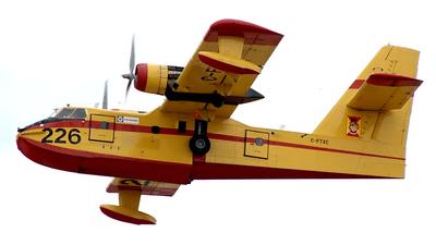 C-FTXC - Canadair CL-215 - Canada - Quebec Service Aerien Gouvernemental