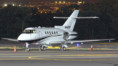 N447SP - Hawker Beechcraft 800XP - Private