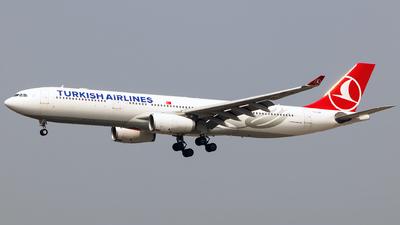 TC-LOB - Airbus A330-343 - Turkish Airlines