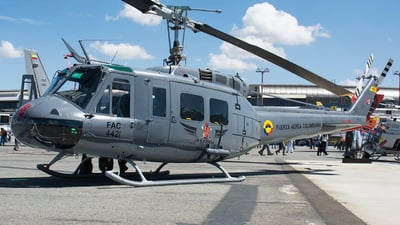 FAC4421 - Bell UH-1H Huey II - Colombia - Air Force