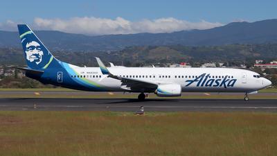 A picture of N483AS - Boeing 737990(ER) - Alaska Airlines - © Kenneth Mora Flores KMF777
