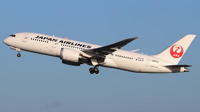 A picture of JA841J - Boeing 7878 Dreamliner - Japan Airlines - © Lars Rohde