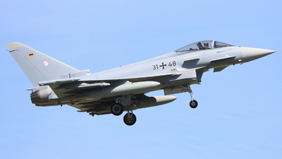 31-48 - Eurofighter Typhoon EF2000 - Germany - Air Force