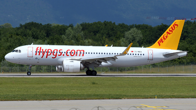A picture of TCNCA - Airbus A320251N - Pegasus Airlines - © Paul Denton