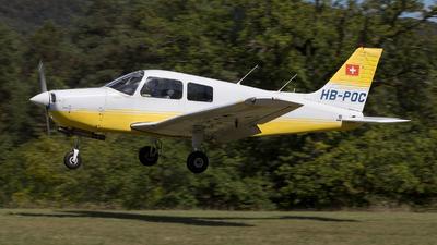 HB-POC - Piper PA-28-161 Cadet - Flugschule Basel