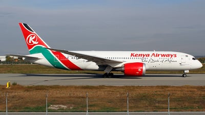 5Y-KZA - Boeing 787-8 Dreamliner - Kenya Airways