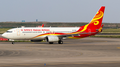 A picture of B5798 - Boeing 73784P - Hainan Airlines - © SZ4509