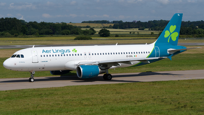 A picture of EIDVL - Airbus A320214 - Aer Lingus - © Ian McGregor