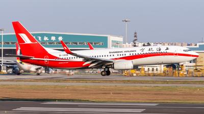 B-1448 - Boeing 737-86N - Shanghai Airlines
