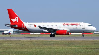 YR-AGA - Airbus A320-232 - Animawings