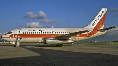 G-BMSM - Boeing 737-2S3(Adv) - Air Europe