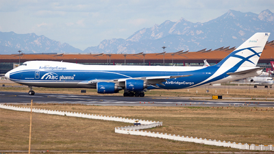 VP-BBL - Boeing 747-87UF - Air Bridge Cargo