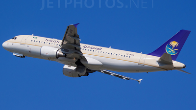 HZ-AS16 - Airbus A320-214 - Saudi Arabian Airlines