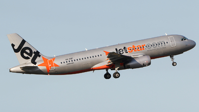 VH-VQF - Airbus A320-232 - Jetstar Airways