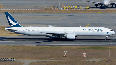 A picture of BHNX - Boeing 77731H - Cathay Pacific - © Jeffrey.W