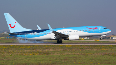 G-FDZJ - Boeing 737-8K5 - Thomson Airways