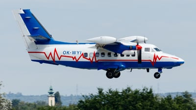 A picture of OKWYI - Let L410 Turbolet - [912616] - © Daniel Nagy