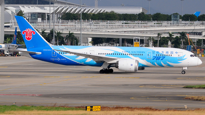 A picture of B2737 - Boeing 7878 Dreamliner - China Southern Airlines - © Jay Cheung