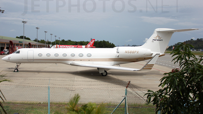 N588PX - Gulfstream G550 - Private